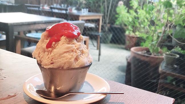 Cafe&Restaurant Rabelaisのいちごかき氷