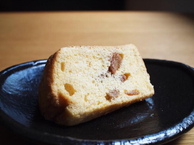 桃のシフォンケーキ