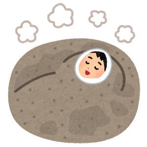 鹿児島の砂蒸し温泉画像