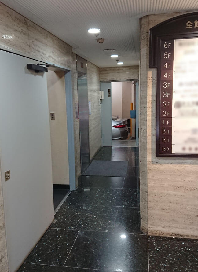 東京営業所エントランス