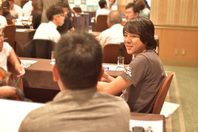 ジョイントメディア代表の光ちゃんマン社長も参加