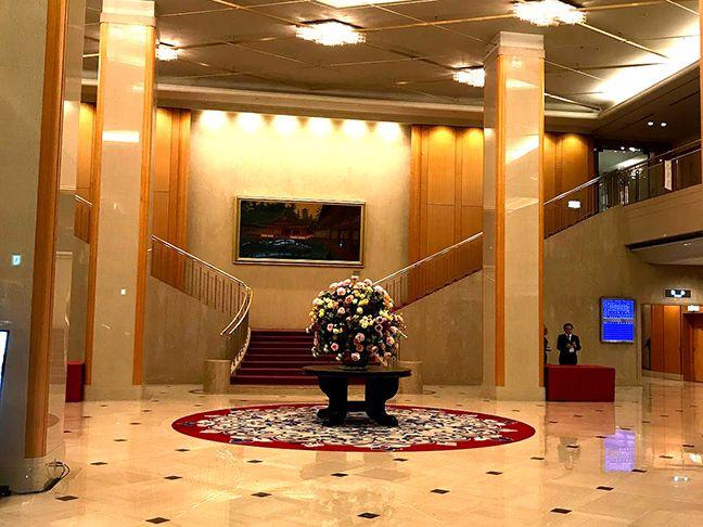ホテルに到着した光ちゃんマンとひぃさん