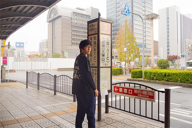 堺シュライクスのトライアウト会場「南港中央野球場」までのアクセス紹介01