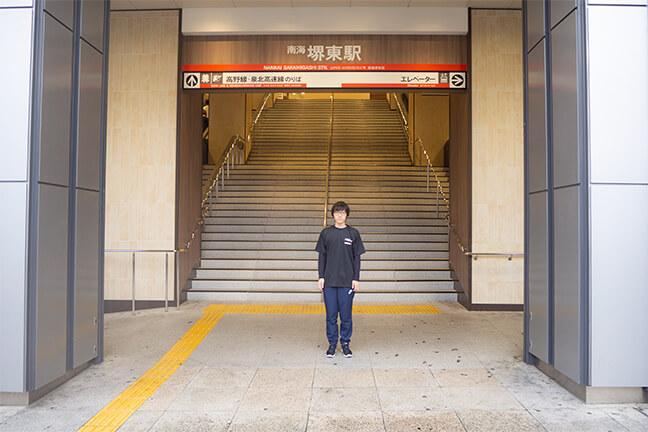 南海高野線堺東駅前から南海バスに乗車1
