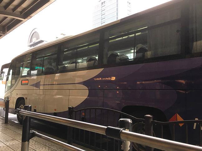 南海高野線堺東駅前から南海バスに乗車3