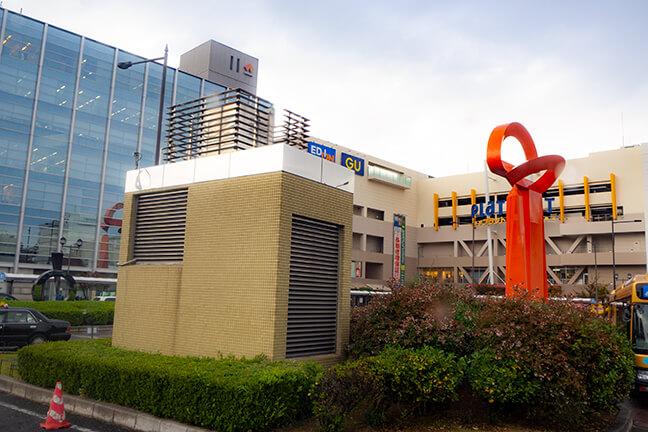 南海本線堺駅から南海バスに乗車1