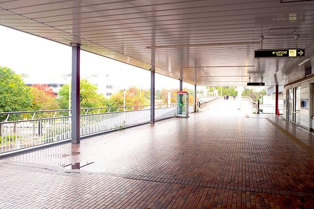 南港ポートタウン線ポートタウン東駅から南港中央野球場へ