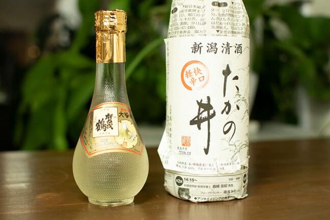 カウンターに並ぶレア兄に飲んでほしい日本酒