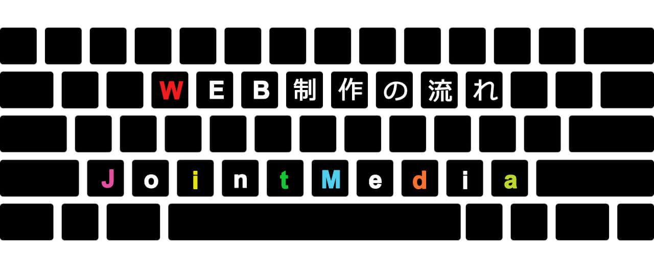 堺市ジョイントメディアが紹介するホームページ制作の流れ