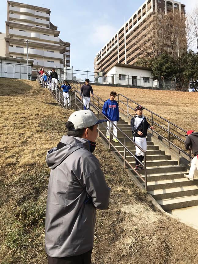階段ダッシュ2