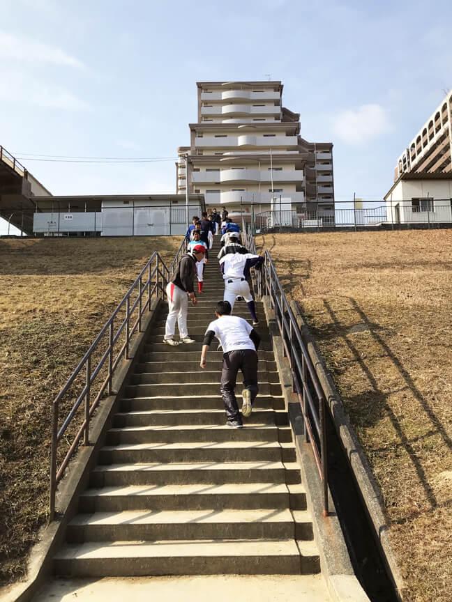 階段ダッシュ3