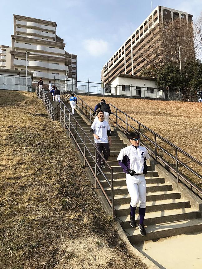 階段ダッシュ5